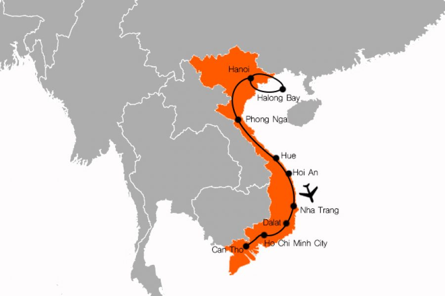 Vietnam holiday packages. 18 day vietnam experience MyHoliday2
